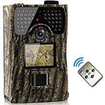 VENLIFE Trail Camera, 12MP Full HD 1080P 90° PIR Sensor Wildlife Hunting Camera 65ft Infrared Scouting Camera with Night Vision 48pcs IR LEDs, IP55 Waterproof 0.2s Trigger Time Game Camera