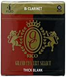 Rico Grand Concert Select Thick Blank (Bb Clarinet #4, Box of 10)