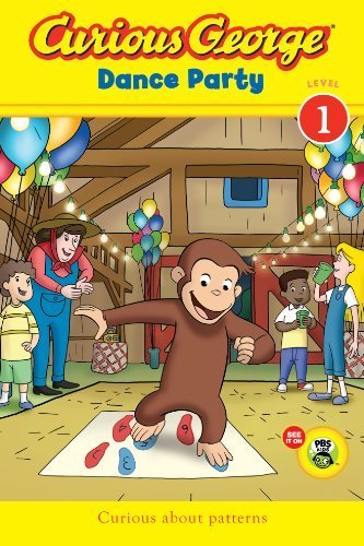 Curious George Dance Party CGTV Reader by H. A. Rey (2013-01-08)