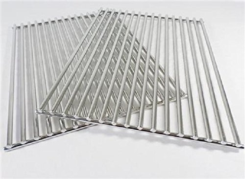 MHP Gas Grill Stainless Steel Cooking Grate set for WNK TKJ 24'' x 15.75'' GG-SSGRID-SET by MHP