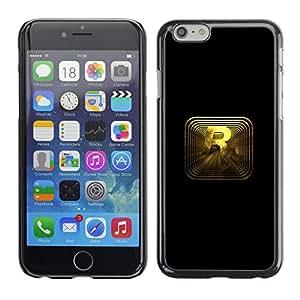 EJOY---Cubierta de la caja de protección la piel dura para el / Apple Iphone 6 Plus 5.5 / --R R0Ckstar Gaming