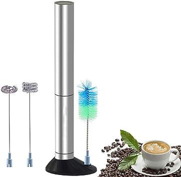 AMY Batidora De Mano Eléctrica, Mini Licuadora para Café A Prueba ...