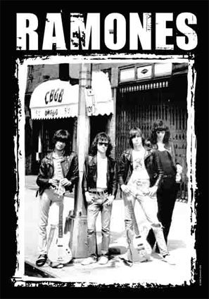 Ramones Fabric Poster 30 x 40in