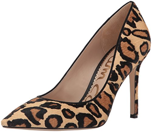 (Sam Edelman Women's Hazel Pump, New Nude Leopard, 7.5 W US)