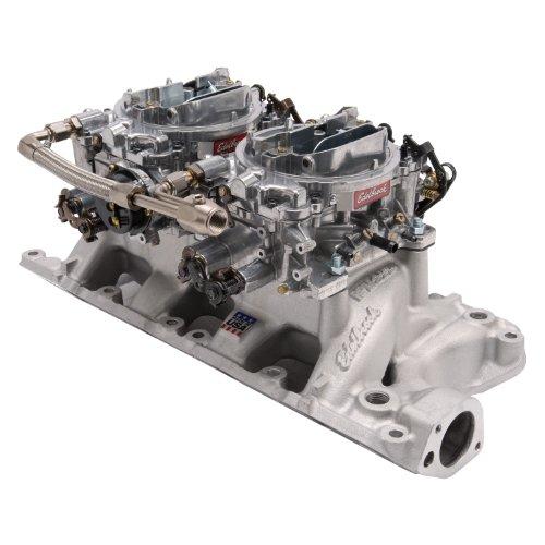 - Edelbrock 2035 SBF Dual Quad Manifold & Carb Kit