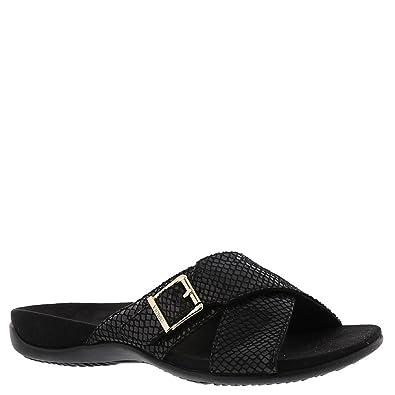 fadaf1d32668 Vionic Women s Dorie Black Snake Sandal