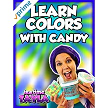 Tea Time with Tayla: Learn Colors with Candy