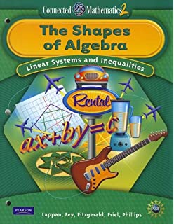 The Shapes of Algebra: Linear Systems and Inequalities (Connected Mathematics 2)Student edition