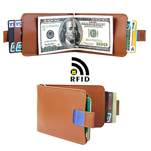 Ultra Blocking Bifold Leather Wallet