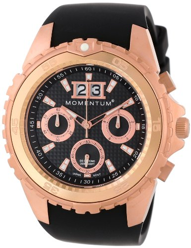 Momentum Men's 1M-DV28B4B D6 Chrono Analog Dive Chronograph and Oversized Date Watch