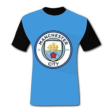 Auqnimol Blue Manchester City Wallpaper Mens T Shirt Vest