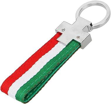 Universal Schlüsselanhänger Aus Metall Und Stoff Style 3 Auto