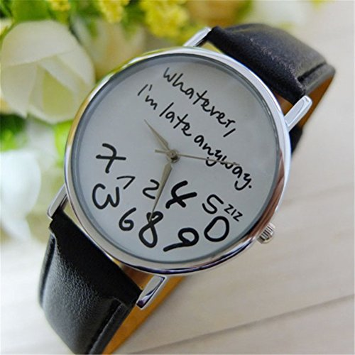 U beauty Unisex Whatever Leather Watches