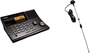 Uniden BC365CRS 500 Channel Scanner and Alarm Clock & Tram 1089-BNC Scanner Mini-Magnet Antenna VHF/UHF/800MHz-1, 300MHz with BNC-Male Connector