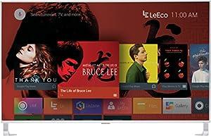 LeEco L554UCNN 55-Inch 4K Ultra HD Smart LED TV, Silver (2016 Model)