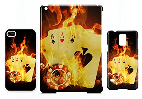 Poker flames Texas holdem iPhone 5C cellulaire cas coque de téléphone cas, couverture de téléphone portable