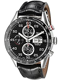 Men's CV2A1R.FC6235 Analog Display Swiss Automatic Black Watch
