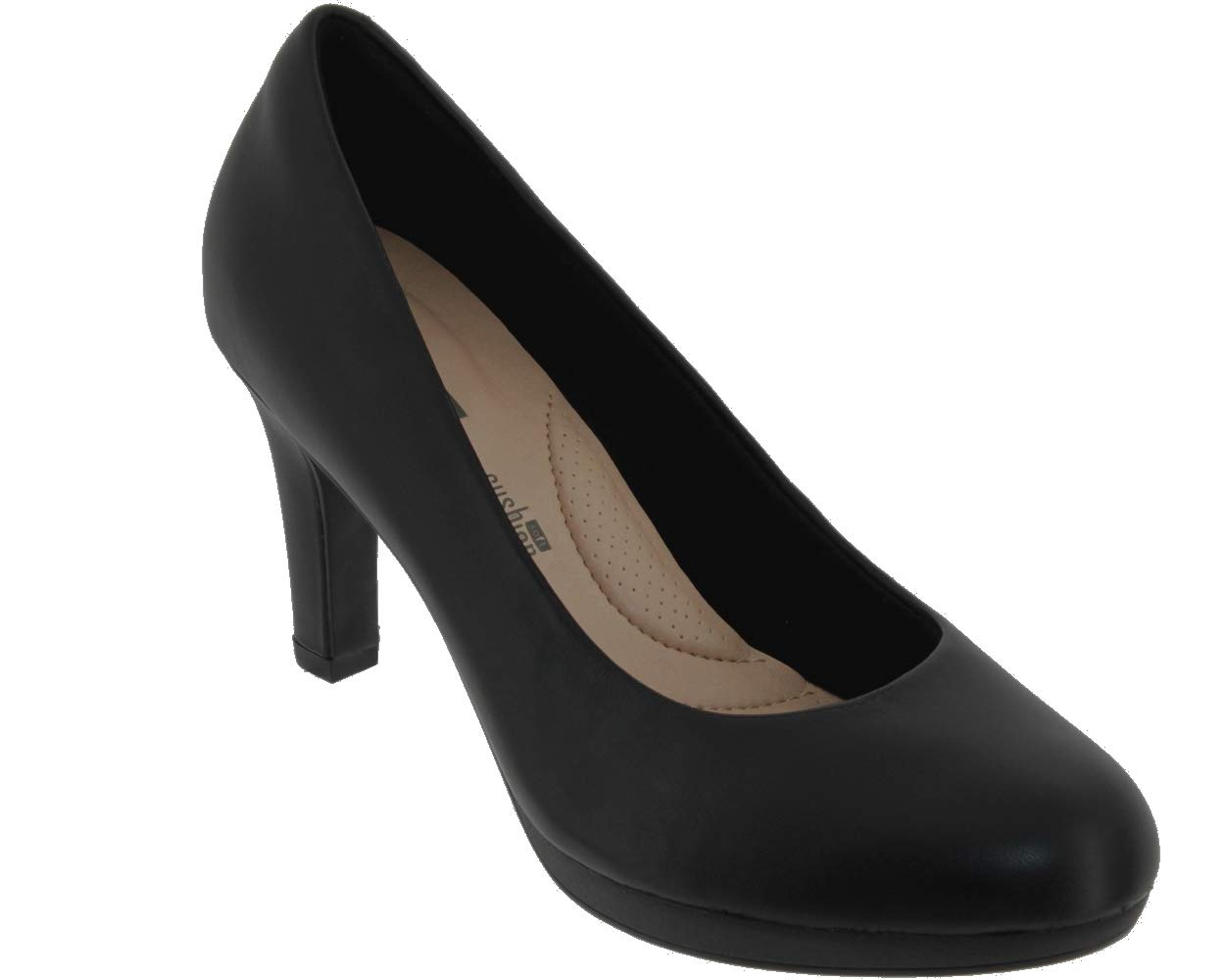 Clarks Adriel Viola, Zapatos de Tacón para Mujer 37 EU|Noir (Black Leather)