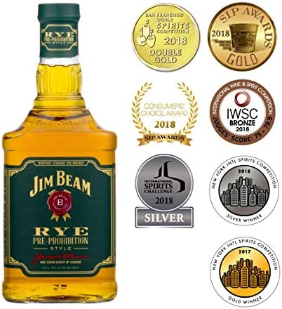 Jim Beam - Rye - Yellow Label 4 year old - 1 x 0.7 l