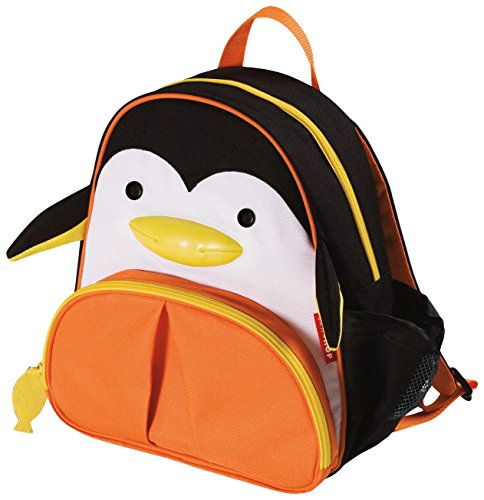 Skip Hop Zoo Little Kid and Toddler Backpack, Picasso Penguin