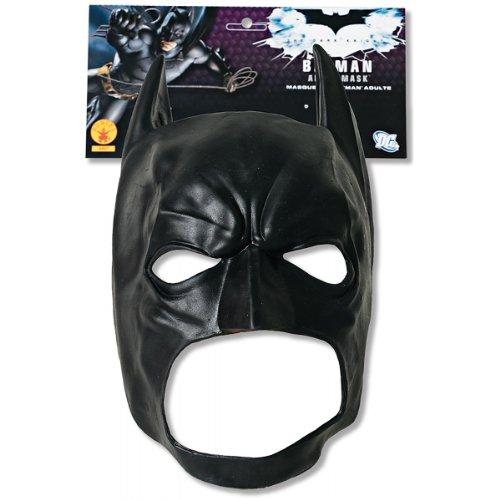 [Batman Dark Knight Adult Batman 3/4 Vinyl Mask - One-Size] (Batman Vinyl 3/4 Mask)