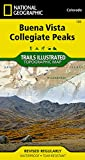 Buena Vista, Collegiate Peaks (National Geographic Trails Illustrated Map)