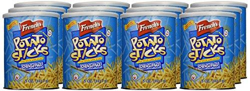 French's Original Potato Sticks, 5 oz (Pack of 12)