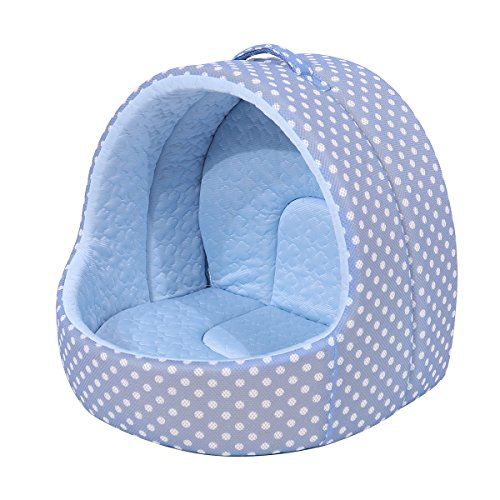 PAWZ Road Cat Hut Tent Puppy House for Better Sleep-Dirt-Resistant Bottom and Machine Washable