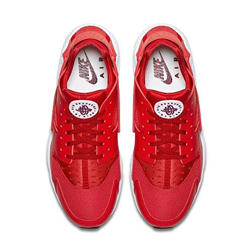 Nike Air Huarache unisex adulto, sintetico, sneaker bassa Rosso