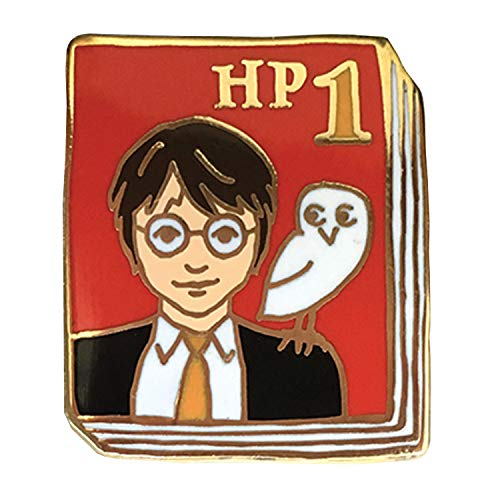 FLORIANA Book-Lover Lapel Pin - Harry Potter Enameled Book Cover - 1