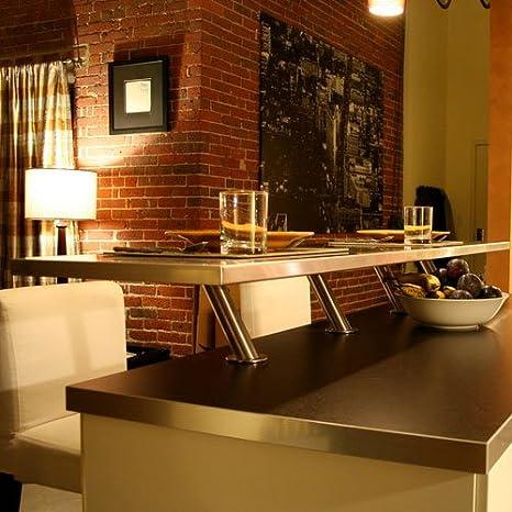 IKEA CAPITA - Set of 2 stainless steel legs: Amazon.es: Bricolaje y herramientas