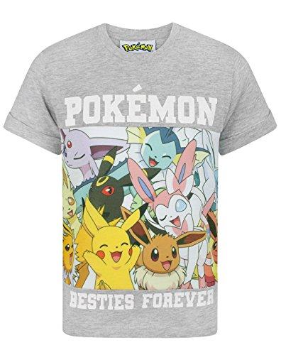 Pokemon Besties Forever Boy's T-Shirt (11-12 - Evolution Kids T-shirt