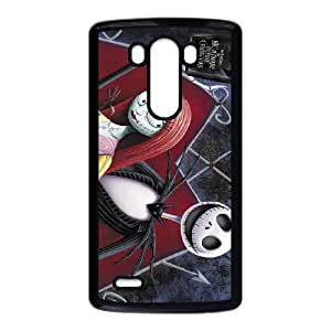 LG G3 Black The Nightmare Before Christmas phone cases&Holiday Gift