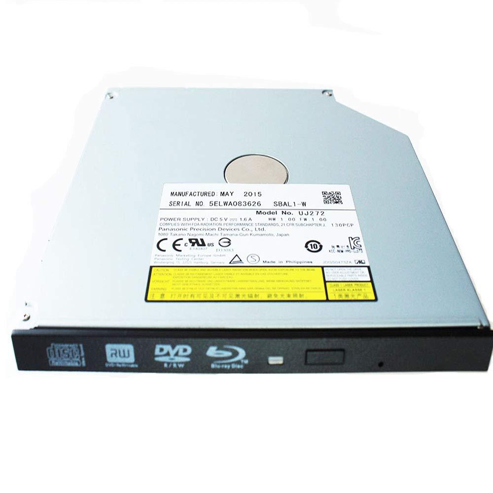 Panasonic UJ-272(Latest Model) SATA 3D Blu-ray Burner Ultra Slim Internal BD RW Optical Drive/9.5mm/Blu-Ray Drive by ISKE (Image #3)