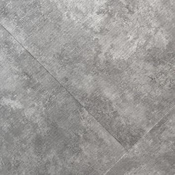 Klick Vinyl Bodenbelag Marmor Betongrau 0 55mm Fliesen Steinoptik