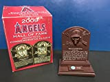 Chuck Finley & Brian Downing Hall of Fame Commemorative Plaque 2009 Anaheim Angels SGA
