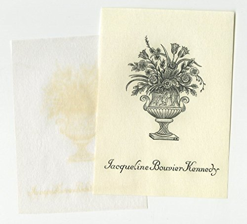Jacqueline Kennedy - Original Tiffany Engraved Personally Owned - Policy Tiffany Return