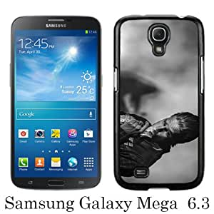 Popular Samsung Galaxy Mega 6.3 I9200 I9205 Case ,Sons Of Anarchy Jax Teller Charlie Hunnam black Samsung Galaxy Mega 6.3 I9200 I9205 Cover Beautiful And Durable Designed Case