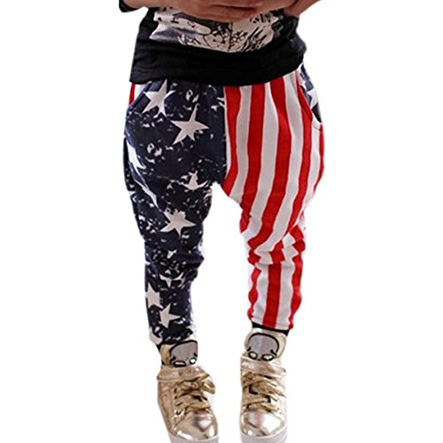 PanDaDa Striped Fashion Trousers Bottoms