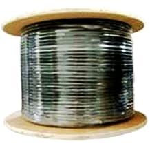 Cat6, 600 Mhz, UTP, UV Jacket, Outdoor, CMX, 1000ft, Black, Bulk Ethernet Cable