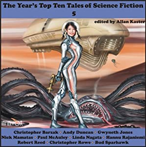 The Year's Top-Ten Tales of Science Fiction 5 Audiobook