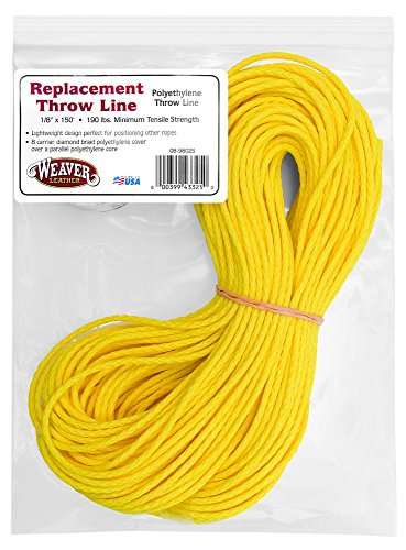 Weaver Leather Replacement Polyethylene Throw Line, Yellow (Polyethylene Rope)