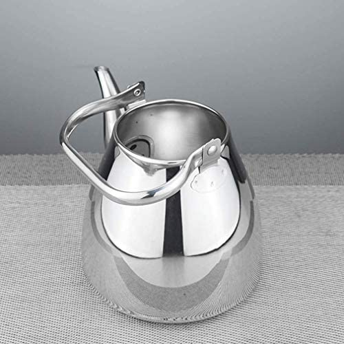 HLJ Fornuis Fluitketel, roestvrij staal Ketel Theepot met zeef Multi-Purpose Handle Kettle Cold Kettle Kleine Theepot Pot van de Soep In (Size : 1.5L)