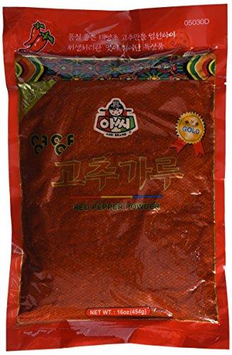 assi Red Pepper Powder, Kimchi, 1 Pound (Kimchi Powder)