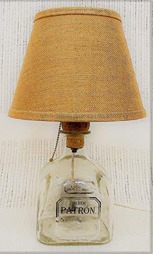 Patron Bottle Table Lamp (Patron Light Tequila)