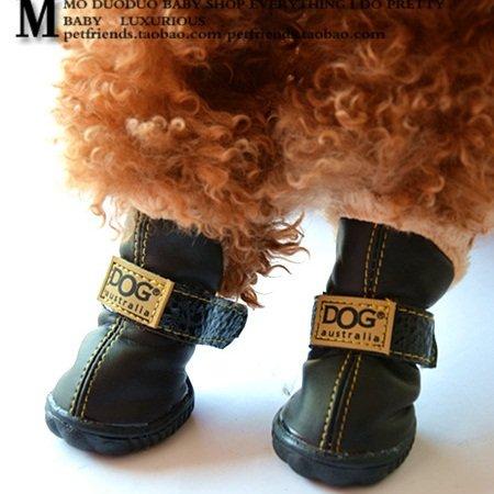 Amazon.com   Colorfulhouse DOG Australia Winter Warm Dog Boots 4 Pcs  (Black 2c61d1de7c83