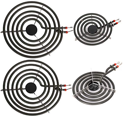 Electric Range Burner Element Unit Set for Most Ranges- 2 pcs MP15YA 6