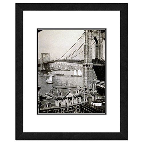 Brooklyn Bridge Photo - Architecture Framed