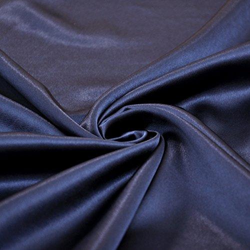 Evening A Satin like Blue Dress Silk Stretch Empire Long Navy Halter line EI8nq