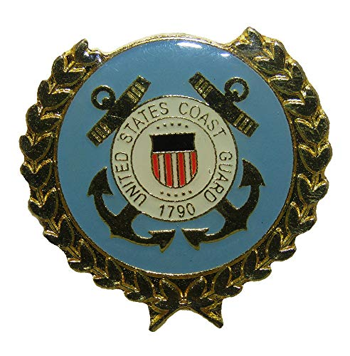 Wholesale Pack of 3 US United States Coast Guard 1790 USCG Anchor Hat Cap lapel Pin ()